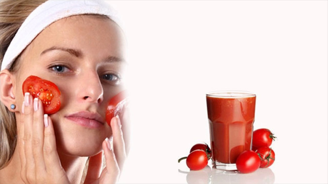 Tomatoes to remove dark circles i