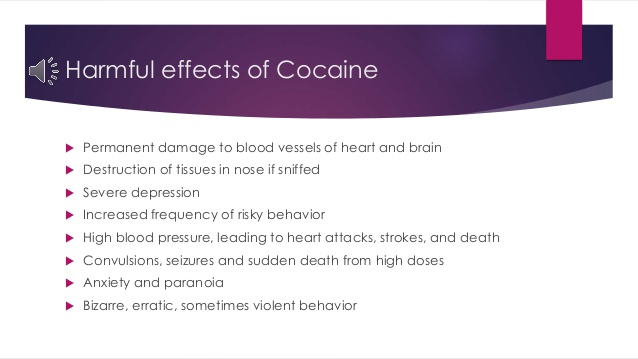 the negative effects of cocaine on the life of carrie fiorillo and the treatment of her addiction Signs of cocaine addiction you the dangerous effects of crack cocaine and games that help you lead a more fulfilling life stop negative thoughts and feel.