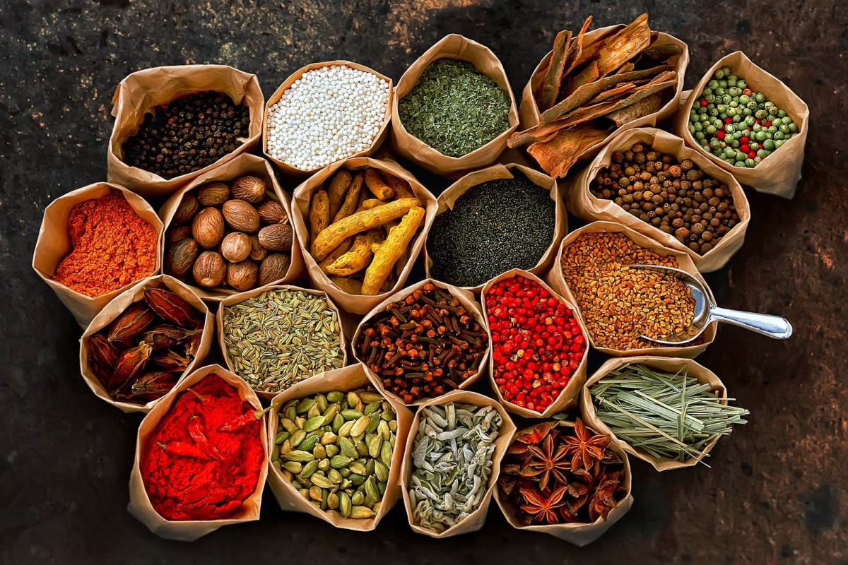 Herbs enriched with antioxidants