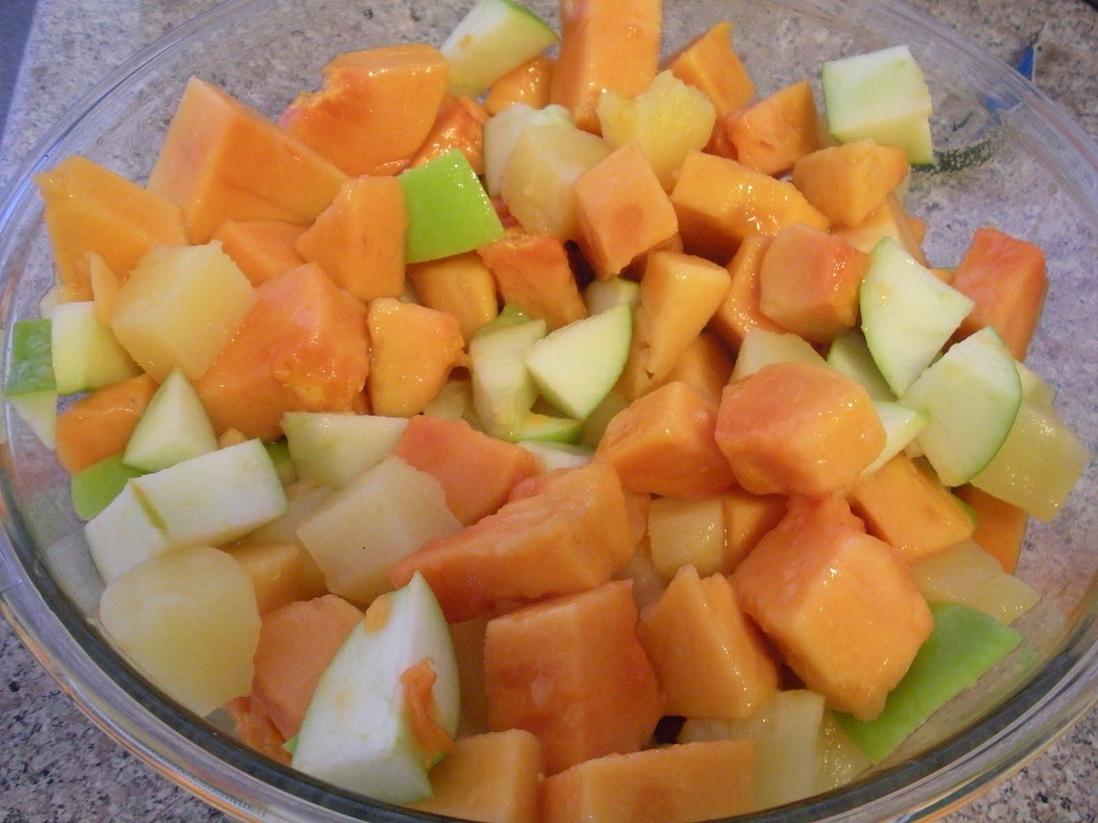 Apples and Papaya