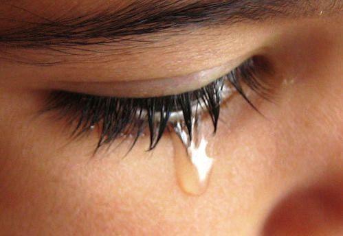 Create tears to relax eye