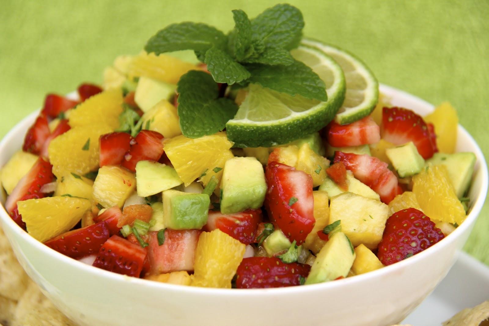 Strawberries, citrus fruits
