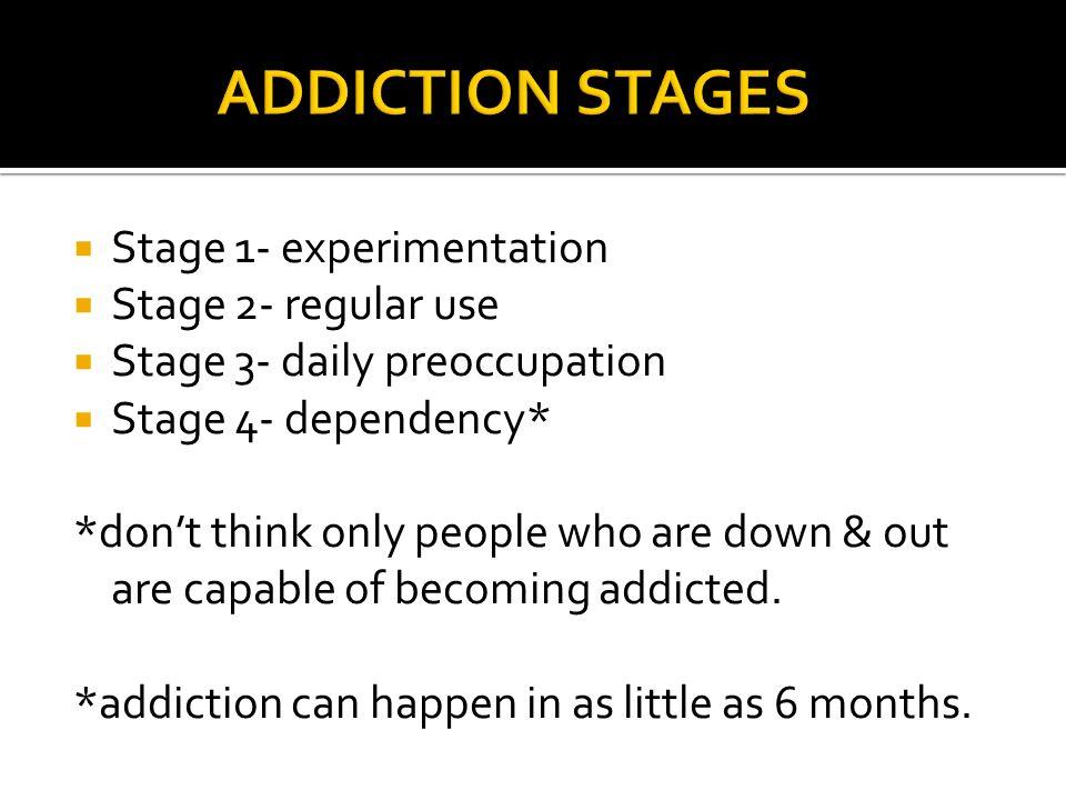 Chemical addiction