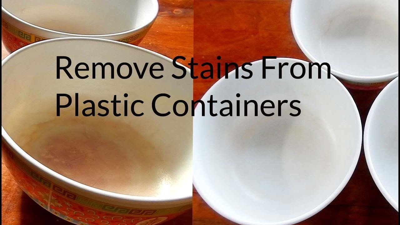 Get Rid of Hard Water Stains on Plastic with Simple Home Remedies