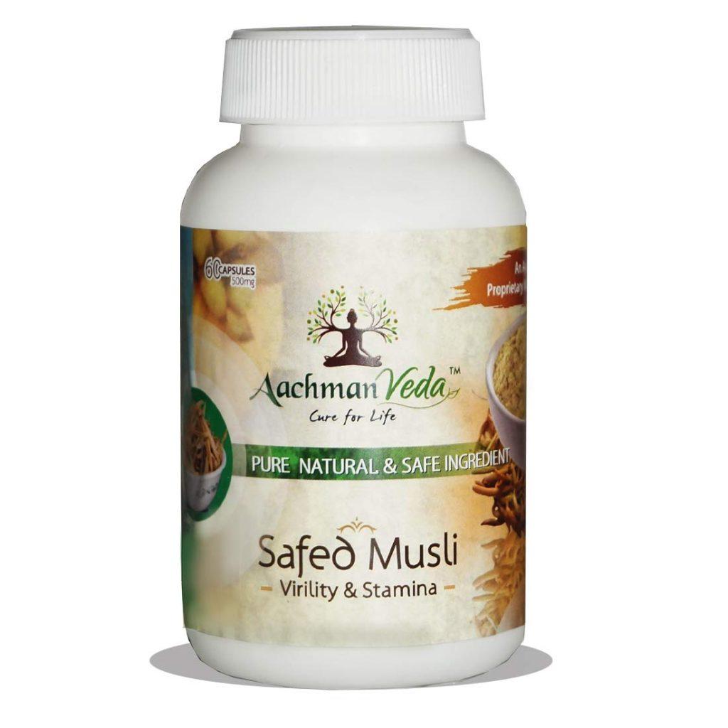 Aachman Veda Natural Pure Musli