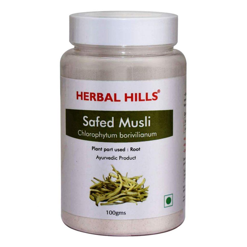 Herbal Hills Safed Musli Powder